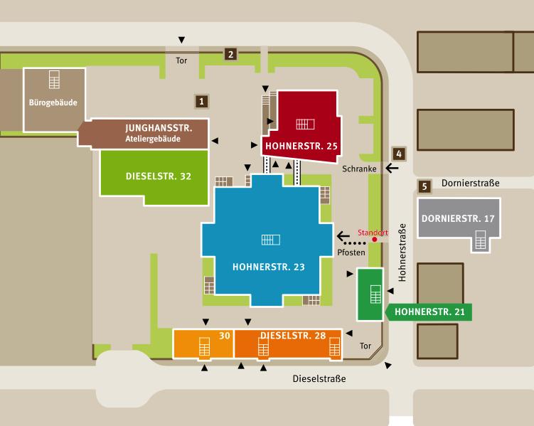 MKI Stuttgart - Karte